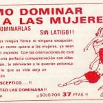 Dominar a las mujeres, 37 pesetas, anuncios antiguos, libro para ligar, libro antiguo para ligar con mujeres