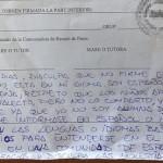 test para ser español, Carta de una madre a un profesor valenciano, aprender valenciano