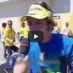Rossi mandó a volar a Marquez