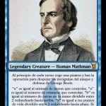 george boole, cartas magic inventadas, mtg, magic the gathering, magic leyends, leyendas magic