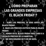 Cómo preparan las grandes empresas el Black Friday