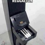 Piano para componer reggaeton, regueton, reketon, mierda reketon