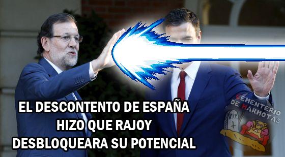 rajoy, kamehameha, rajoy poderes, rajoy 2015