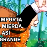dragon ball z, memes dragon ball, me importa una mierda, memes goku, memes dragon ball super