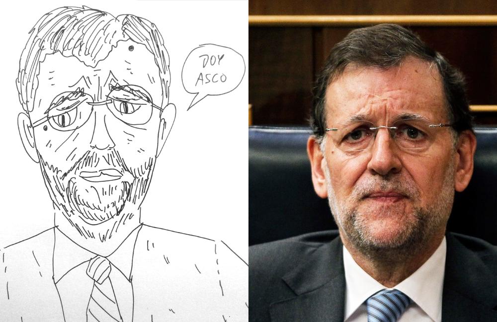 caricatura rajoy