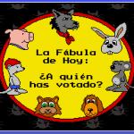 Fábula sobre las elecciones 2016, Aldea Follón, cuentos de animales, cartooners, animación 2d
