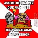 parrafadas en facebook, memes facebook, memes marmota