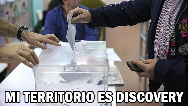 elecciones de 26J, mi territorio es discovery
