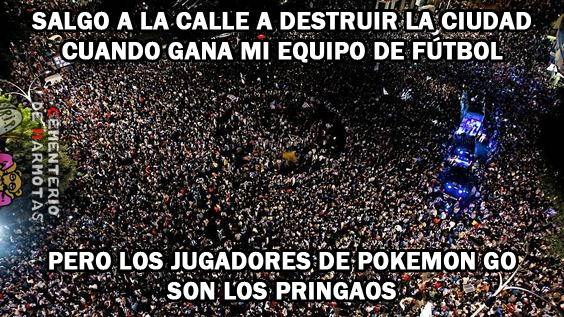 Odias Pokemon Go, pokemon go, futbol, secta