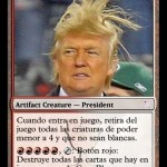 cartas magic inventadas, trump, usa