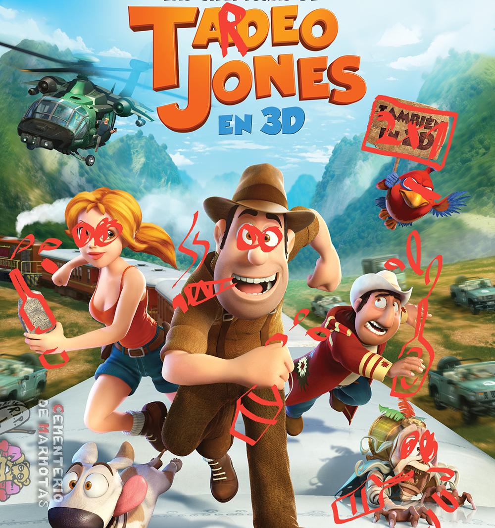 Tardeo Jones, la nueva película infantil sobre el tardeo
