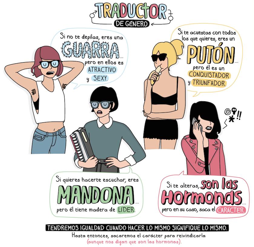 Moderna de Pueblo vendida a Cuore, Cuore revista, Moderna de Pueblo, Comic moderna de pueblo