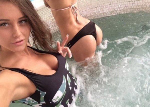 tías en bikini