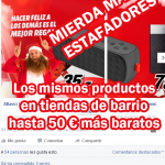 media markt estafadores, media markt opiniones, estafas publicidad facebook, cómo quitar los anuncios de facebook, Cómo hacer desaparecer los anuncios de Facebook