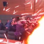 Dragon Ball Pelea a puñetazos en el Parlamento Turco