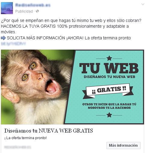 rediseno web estafa, web gratis, estafa, hosting, peor hosting, opiniones hosting