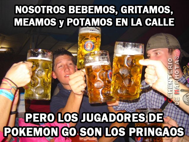 pokemon go borrachos