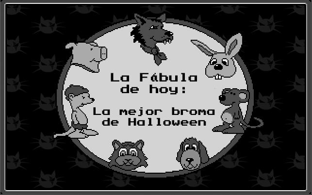 La mejor broma de Halloween, aldea follon, animacion en 2d