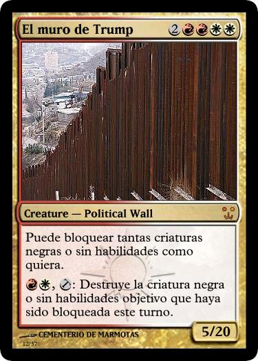 magic the gathering, cartas magic inventadas, trump, memes